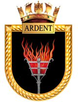 HMS Ardent Ships Crest